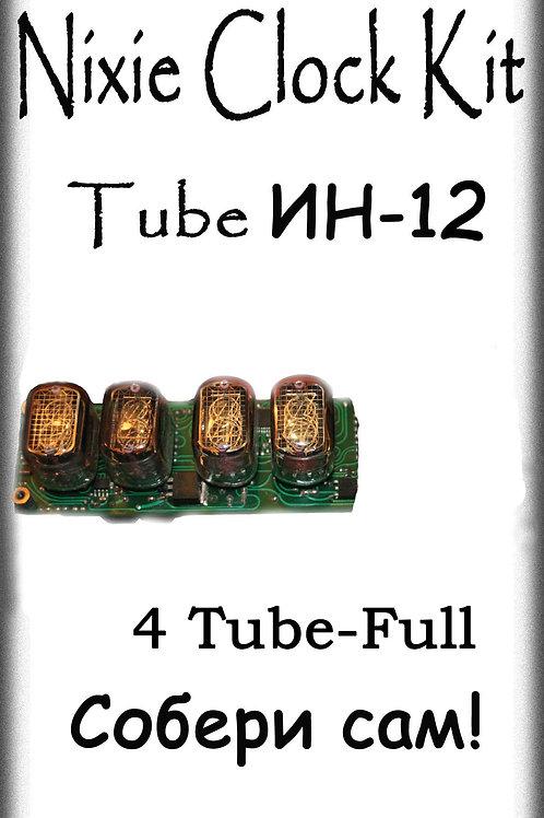 Nixie clock Kit IN-12-4-Tube Full (No Tube)