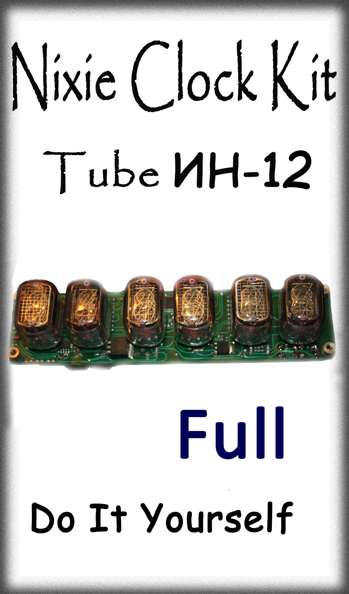 Nixie Clock IN-12 Full