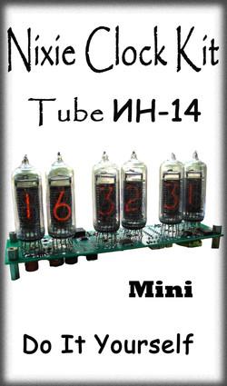 Nixie Kit IN14 6-Tube Mini