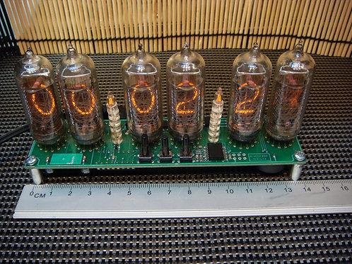Nixie clock Kit IN-14 6 mini (No Tube)