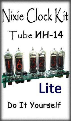 Nixie Kit IN14 6-Tube Lite