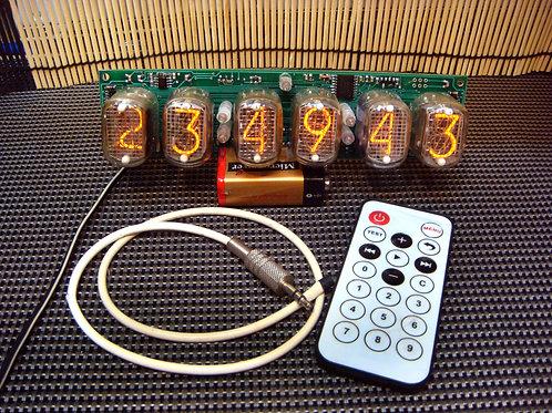 Nixie Clock Kit IN-12 Full (No tube)