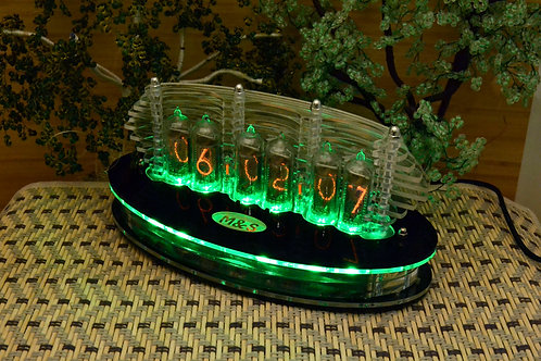 Nixie Clock IN-14 Full Mini Lamina