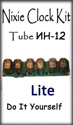 Nixie Clock IN-12 Lite
