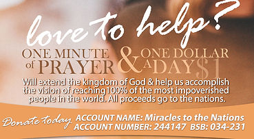Donations | $1 a day | Fathers House Orphanage West Timor | Bible College Macedonia
