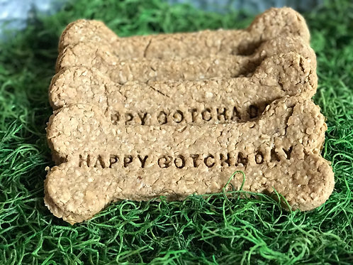 GOTCHA DAY Peanut Butter Dog Biscuit 1ct