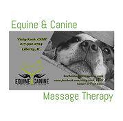 EQUINE & CANINE MASSAGE THERAPY