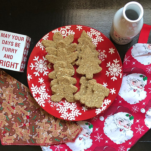 Christmas 12 COUNT LARGE Peanut Butter Dog Biscuit