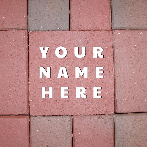 NEMOHS Memorial Brick Paver