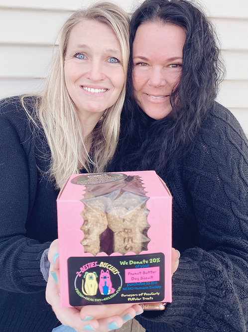 Biscuits to the Shelter- Donate a box to the Pups!