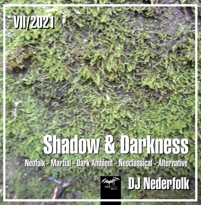 """Radio & Podcast : DJ Nederfolk : Neofolk """"Shadow & Darkness"""" mix July 2021"""