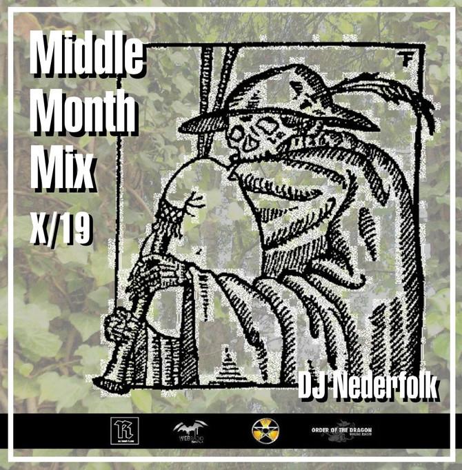 Radio & Podcast :DJ Nederfolk : Middle Month Mix Octobre 2019