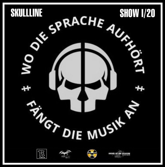 Radio & Podcast : DJ Nederfolk : Skullline Show - January 2020