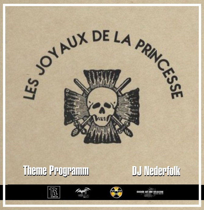 Radio & Podcast :  DJ Nederfolk : Theme : Les Joyaux de la Princesse