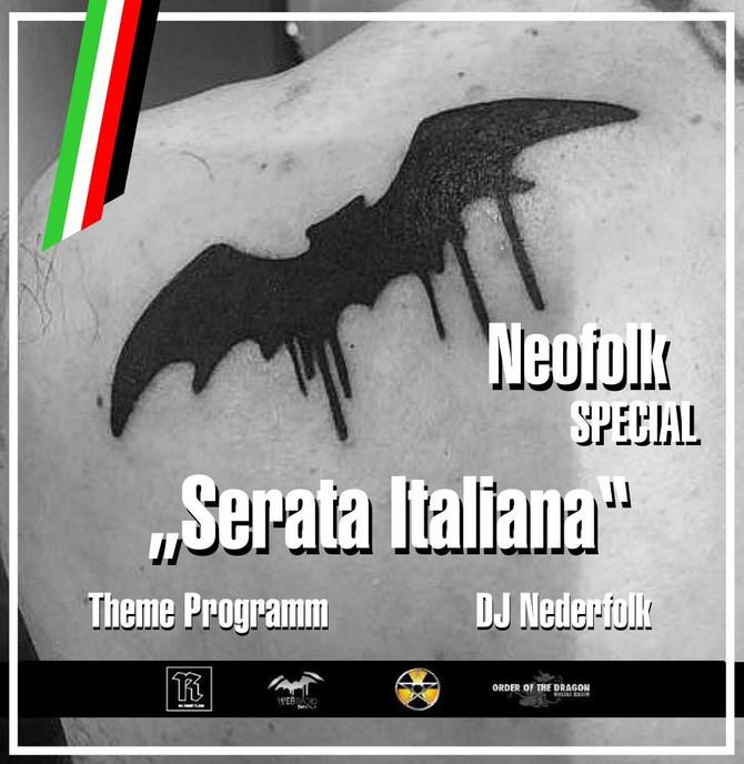 "Radio & Podcast :DJ Nederfolk : ""Serata Italiana"" / Neofolk special"