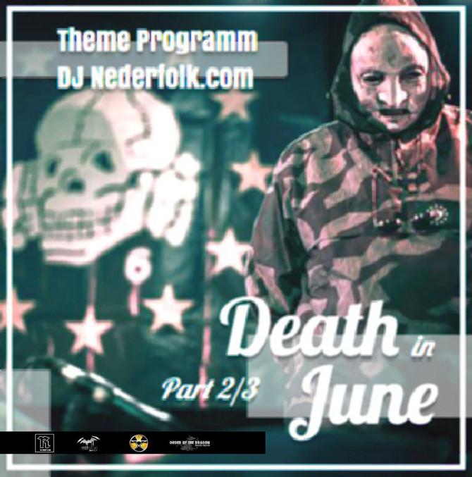 Souncloud Podcast :DJ Nederfolk : Thema : Eternal Death In June / part II
