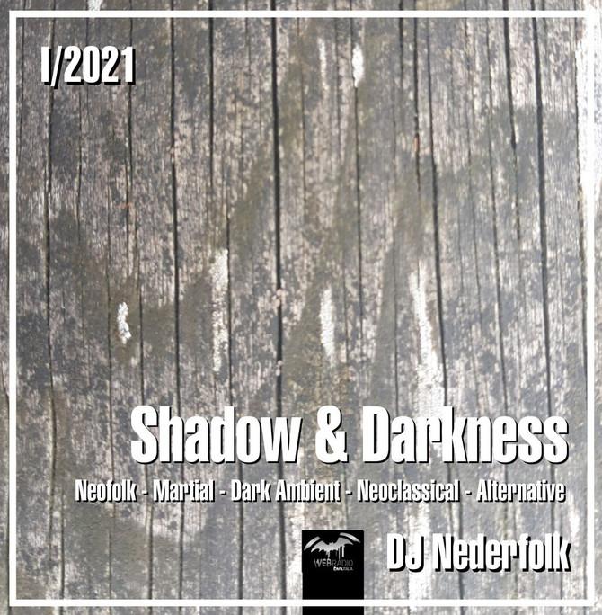 """Radio & Podcast : DJ Nederfolk : Neofolk """"Shadow & Darkness"""" mix January 2021"""