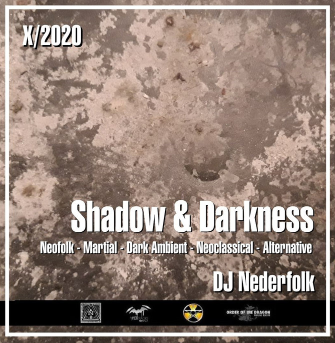 "Radio & Podcast : DJ Nederfolk : Neofolk ""Shadow & Darkness"" mix October 2020"