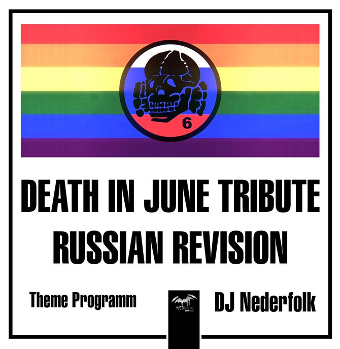 Radio & Podcast : DJ Nederfolk : Avec.Club presents ... Death In June Tribute / Russian Revision
