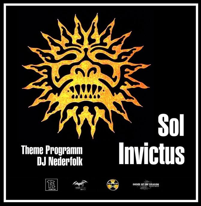 Radio & Podcast :DJ Nederfolk : Thema Neofolk : Sol Invictus