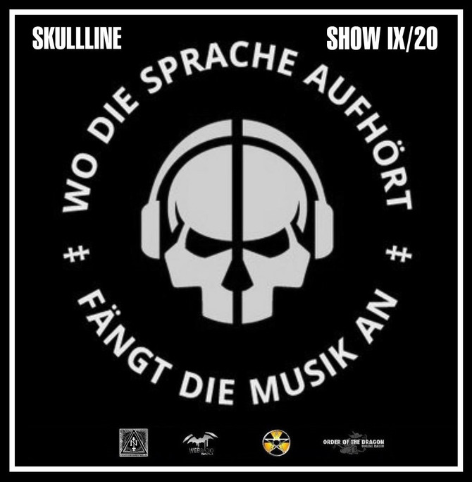 Radio & Podcast : DJ Nederfolk : Skullline Show : September 2020