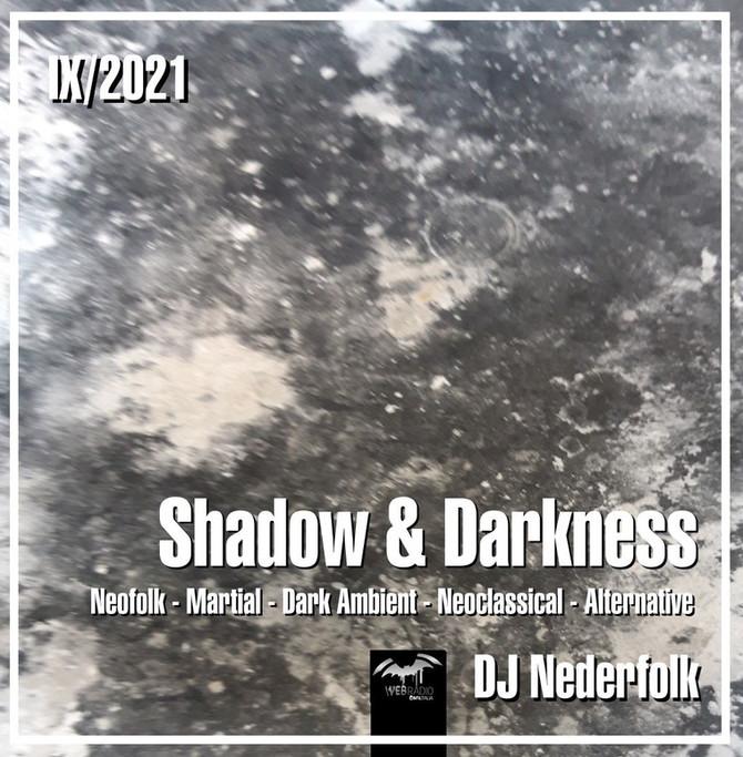 "Radio & Podcast : DJ Nederfolk : Neofolk ""Shadow & Darkness"" mix September 2021"