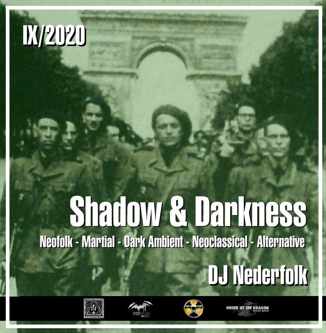 "Radio & Podcast : DJ Nederfolk : Neofolk ""Shadow & Darkness"" mix September 2020"