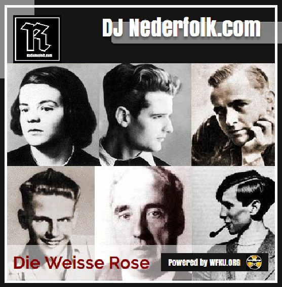 Uploaded : Podcast : Mixcloud : Die Weisse Rose