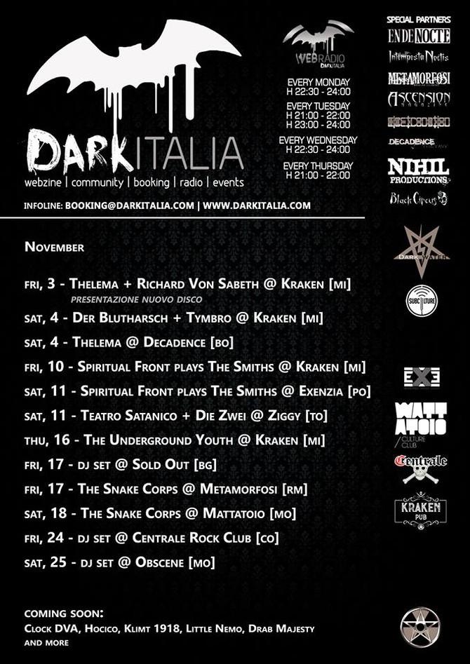 Uploaded : DarkItalia programm NOV 2017