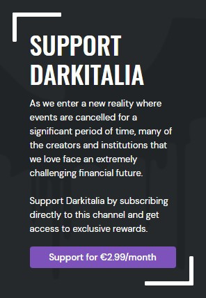 GET CLOSER TO DARKITALIA
