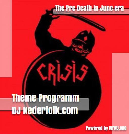 """Uploaded : Podcast : """"Crisis"""" / pre Death In June era"""