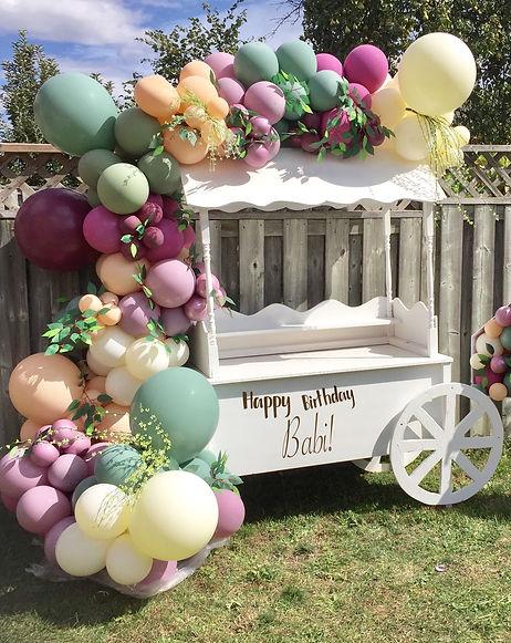 Sweet-candy-cart-rental-toronto-balloon-