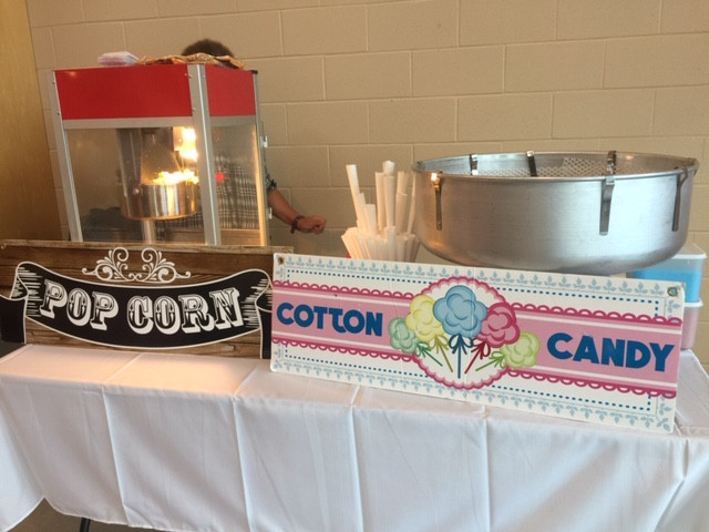 Popcorn-Cotton candy - Catering -Party r