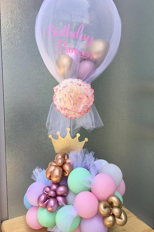 Centerpiece Stand Balloon Tulle