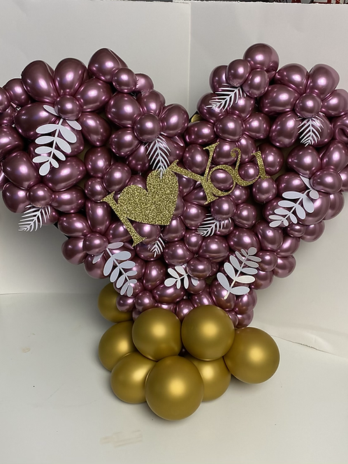 Love-Heart- organic balloon-Gift-Valentin-Day