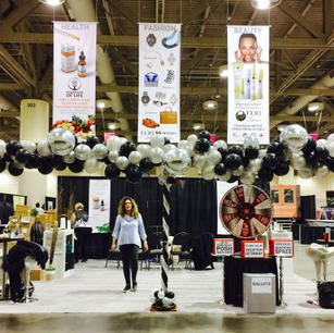 balloon garland business event toronto