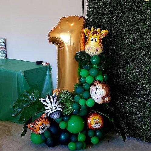 Safari balloon column # 1