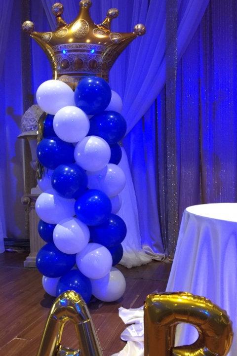 Prince theme Balloon column