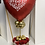 Thumbnail: Red Sweet Heart Balloon Bouquet | Valentine's Day Decorations | Valentine's Day
