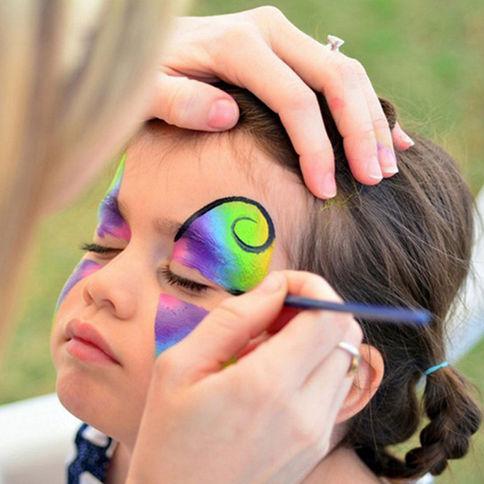 Face-Paint-Halloween-Makeup-Non-toxic-Wa