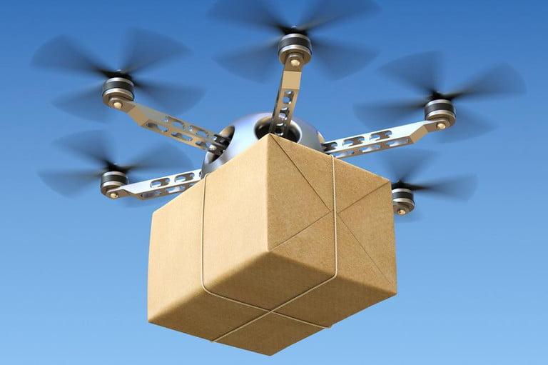 Uso de drones en la última milla de procesos de entrega logísticos