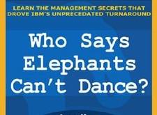¿Quién dice que los elefantes no pueden bailar?