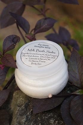 Milk bath salts with Lavender oil
