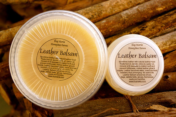 Beeswax Leather Balsam