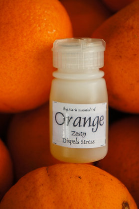 Orange aromatherapy oil