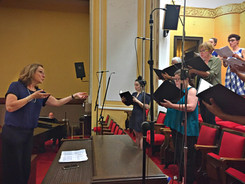 Our Fall 2017 Recording Session at Greater Bethesda