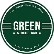 green street, logo, florence bars, firenze bar, nightlife, florence, firenze, florence nightlife