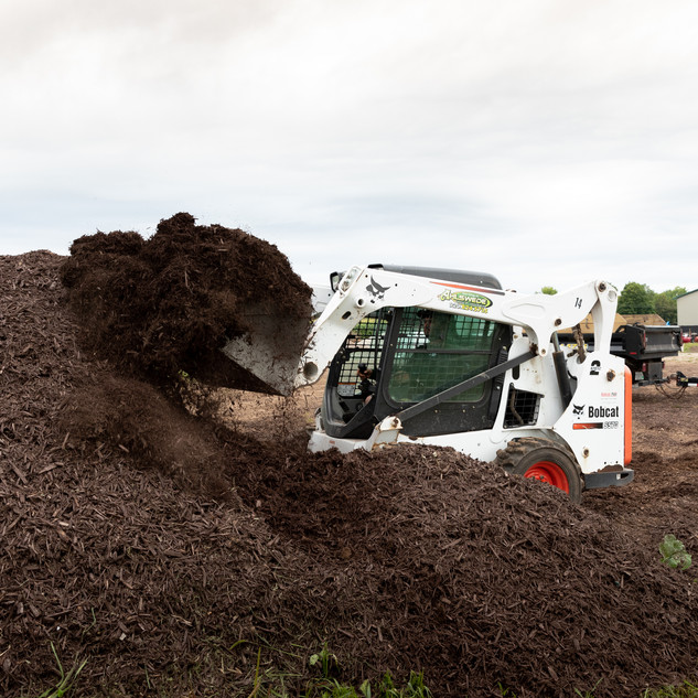 Loading Mulch
