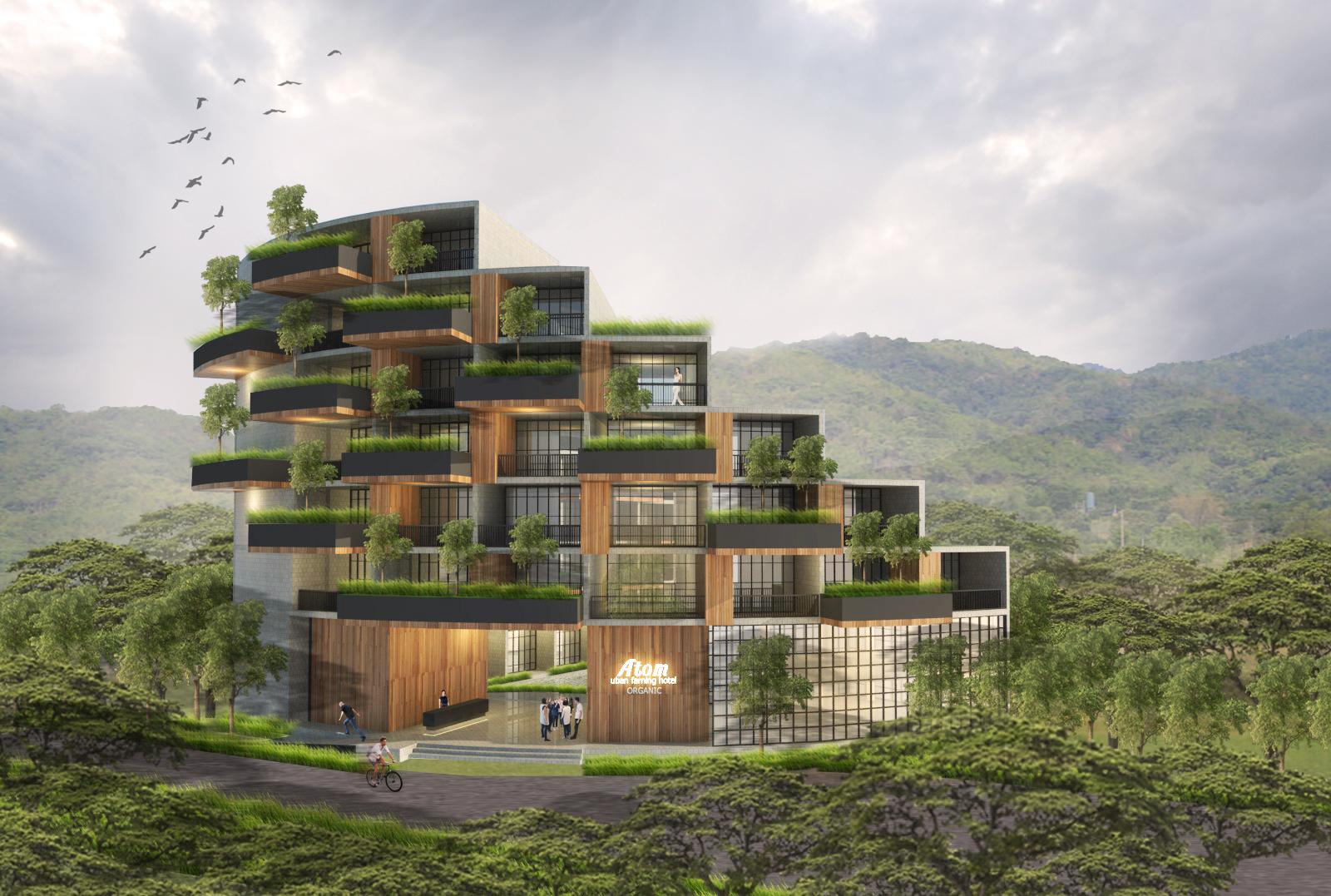 Urban Farming Hotel