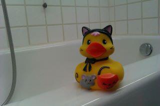 Halloween ducky